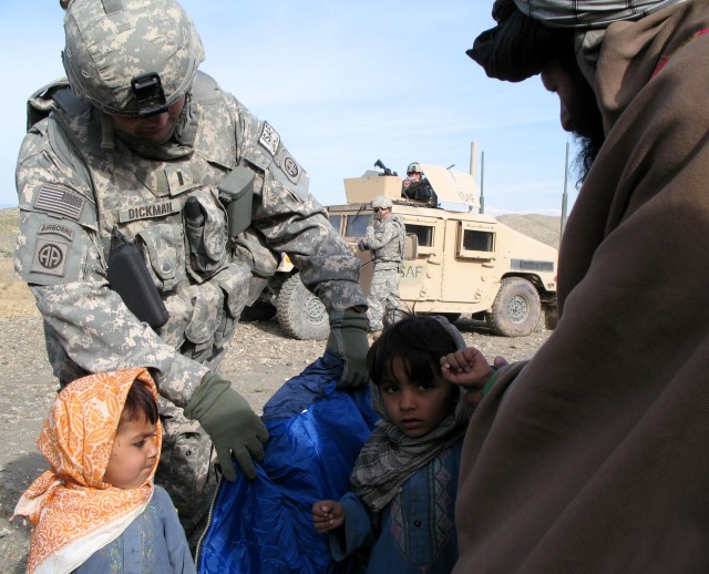 Hearts and minds at work, Khost 2007