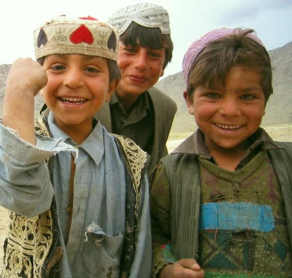 Kutchi children, Afghanistan