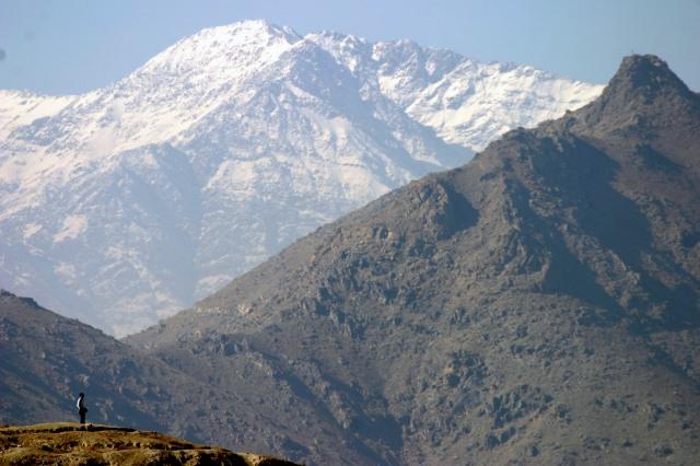 Mountains Kabul