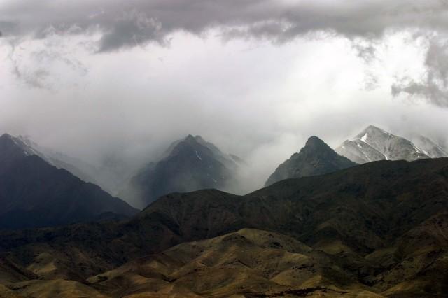 Mountain storm, Kapisa Province