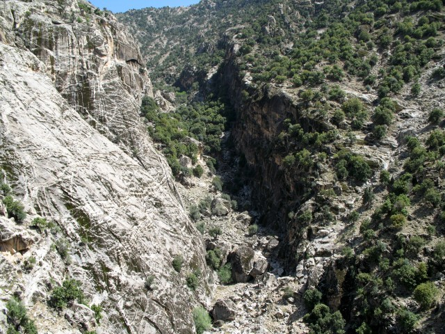 Nuristan's impregnable landscape