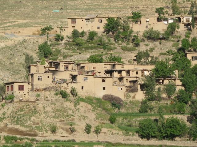 Village, Northern Kunar Province, Afghanistan, 2007