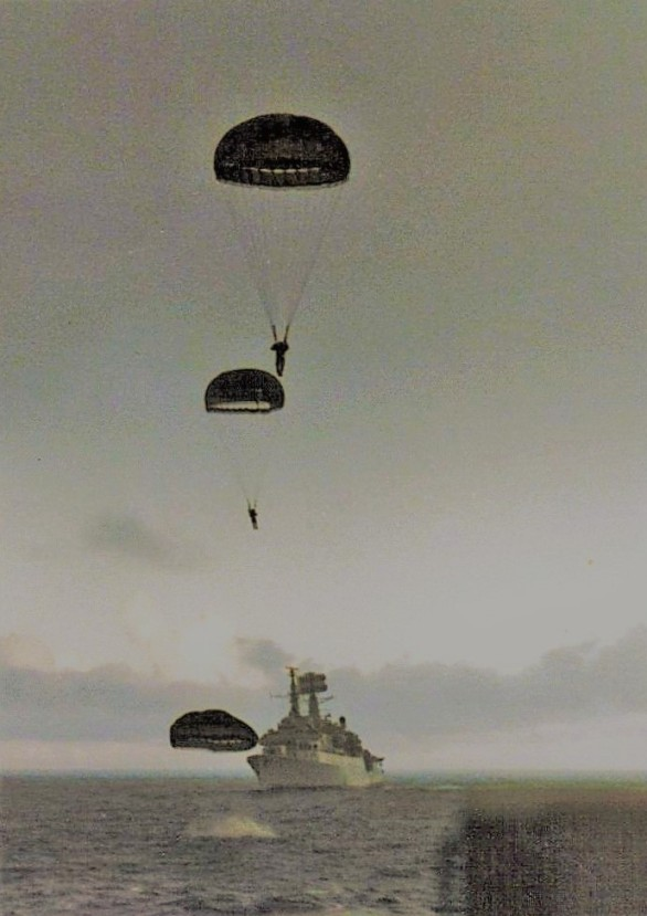para desent Falklands War